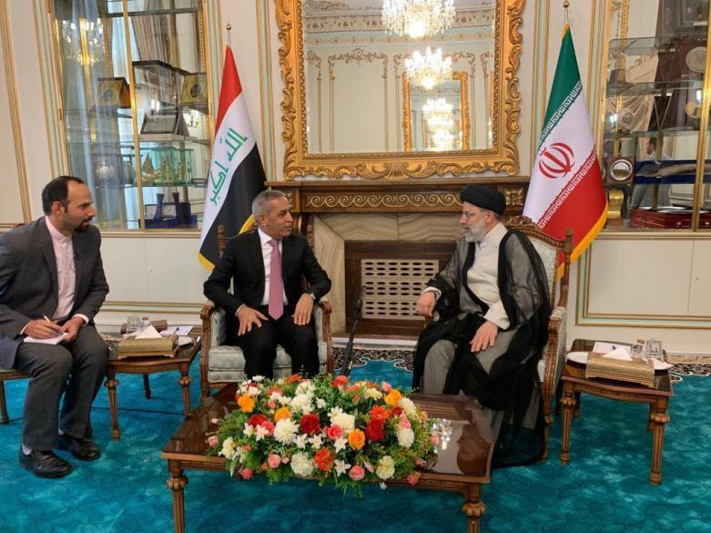 The President of the Supreme Judicial Council meets the President of the Judiciary in the Islamic Republic of Iran