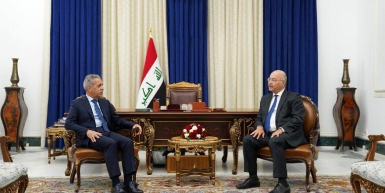 President of Supreme Judicial Council discusses with President of the Republic draft law of Supreme Federal Court
