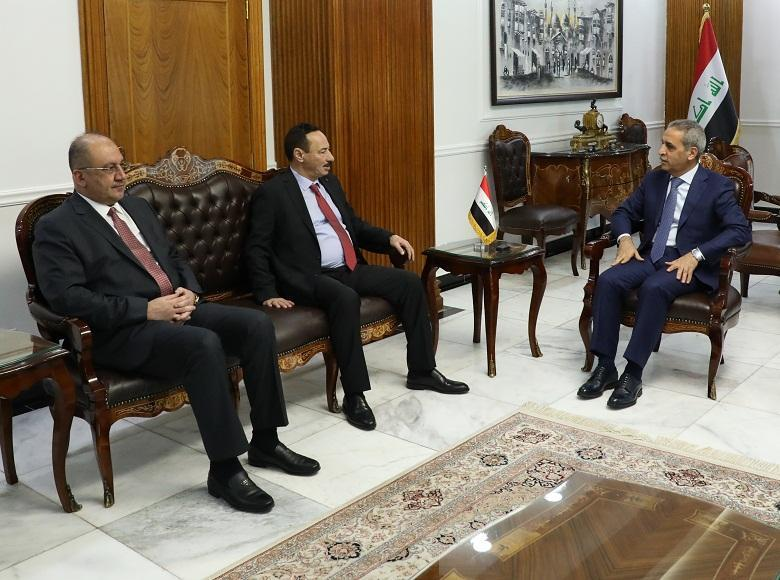President of Supreme Judicial Council Receives Governor of Nineveh 