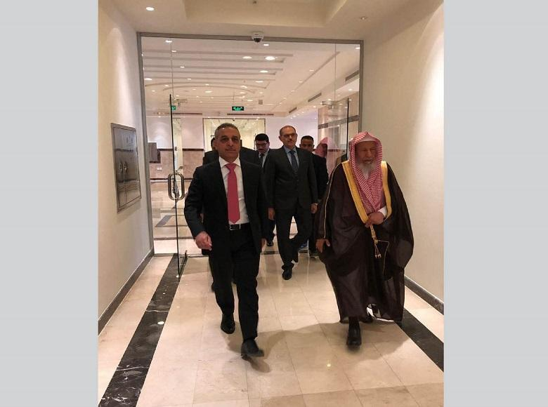 The President of the Supreme Judicial Council Visits Supreme Court in Saudi