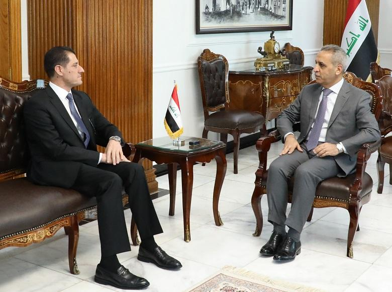 President of Supreme Judicial Council Receives Minister of Planning