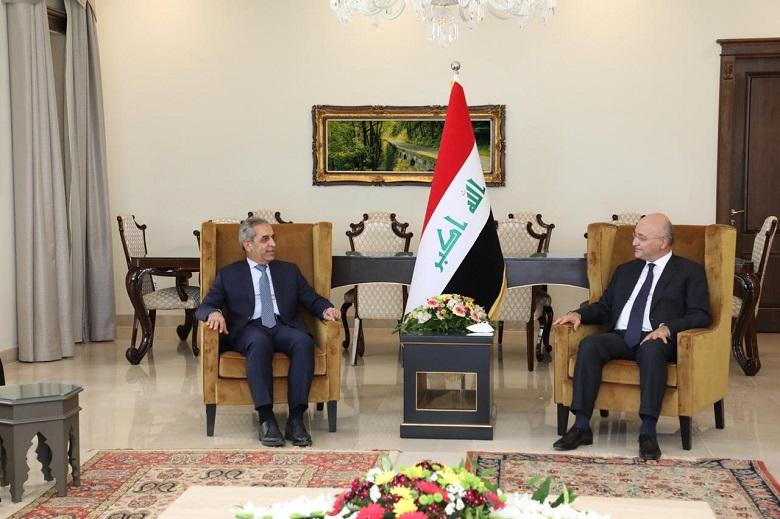 President of Supreme Judicial Council meets President of the Republic in Sulaymaniyah