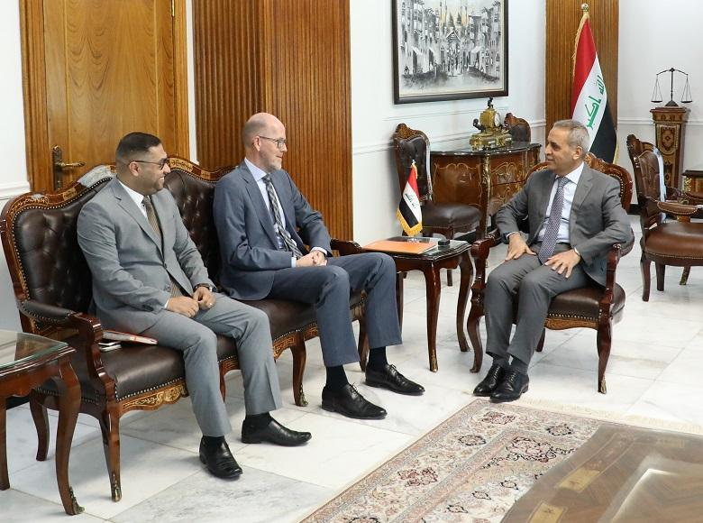 President of Supreme Judicial Council Welcomes Ambassador of ‎Kingdom of Netherlands ‎