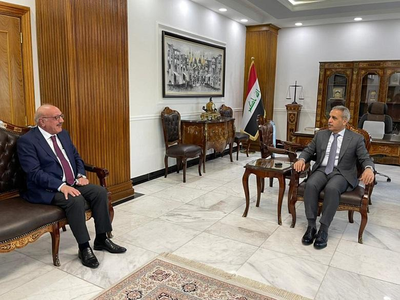President of Supreme Judicial Council receives President of Iraqi bar