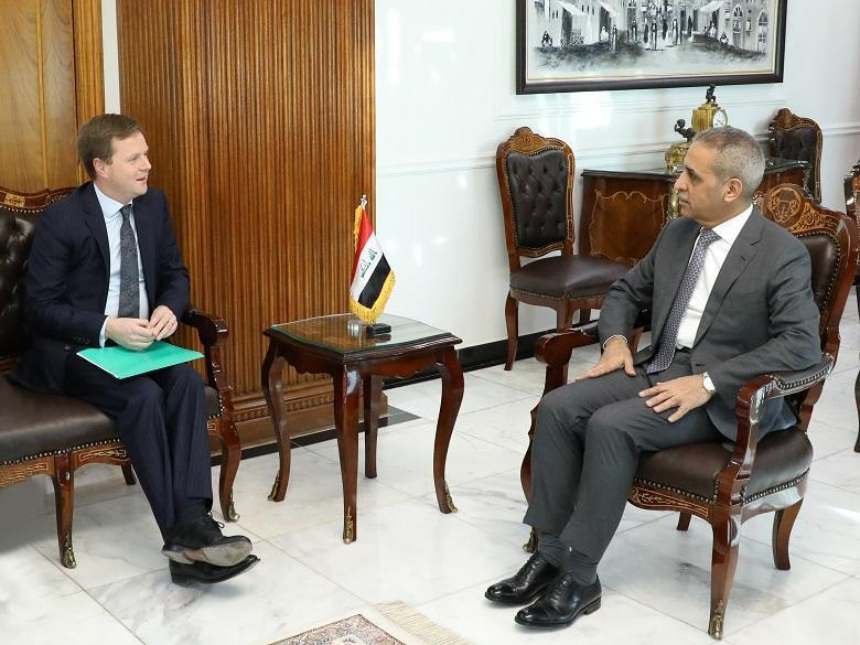 President of Supreme Judicial Council Receives Ambassador of ‎United Kingdom ‎
