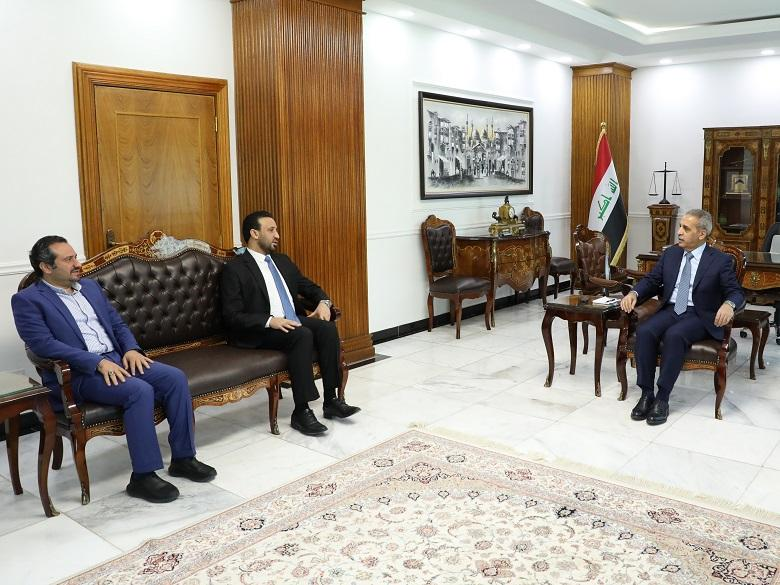 President of Supreme Judicial Council receives President of Board of Trustees of Iraqi  Media Network